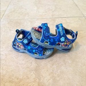 Nickelodeon Toddler Paw Patrol Sandals size 8